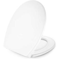 WC Sitz, Dalmo O-Form Toilettensitz, mit Soft Close Absenkung und Quick Release-Funktion,[...]