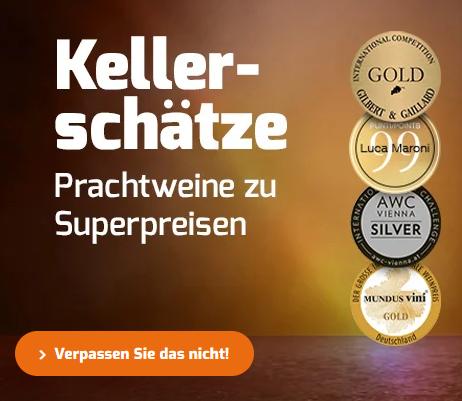 Bild zu Weinvorteil: 15€ Rabatt auf alle Weine (MBW: 70€)
