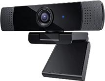1080P Webcam mit Stereomikrofonen mit Rauschunterdrückung, Full HD-USB-Computerkamera für[...]
