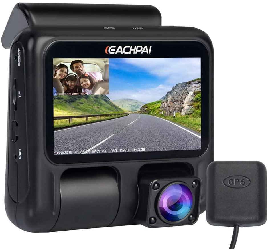 Bild zu Dash-Cam EACHPAI X100 Pro Kompakt für 49,50€