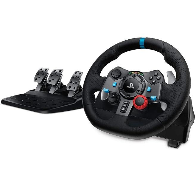 Bild zu Logitech G29 Driving Force Gaming Rennlenkrad mit Force Feedback für 199€ (Vergleich: 232€)