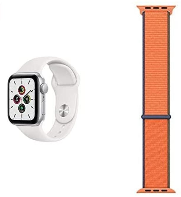 Bild zu Apple Watch SE 40mm + gratis Wechselarmband für 279€ (VG: 319€) oder 44mm für 299€ (VG: 346€) in versch. Farben