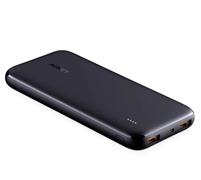 AUKEY PB-N73 USB-C-Powerbank, 10 000 mAh, Tragbares Ladegerät, 2 Anschlüsse, Schwarz