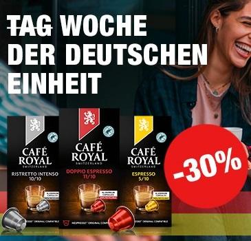 Bild zu Cafe Royal: 30% Rabatt auf Kapseln für Nespresso
