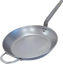 DeBuyer 5610 32 Bratpfanne, Eisenpfanne, 32 cm Durchmesser, silber Amazon de Küche, Haush[...]
