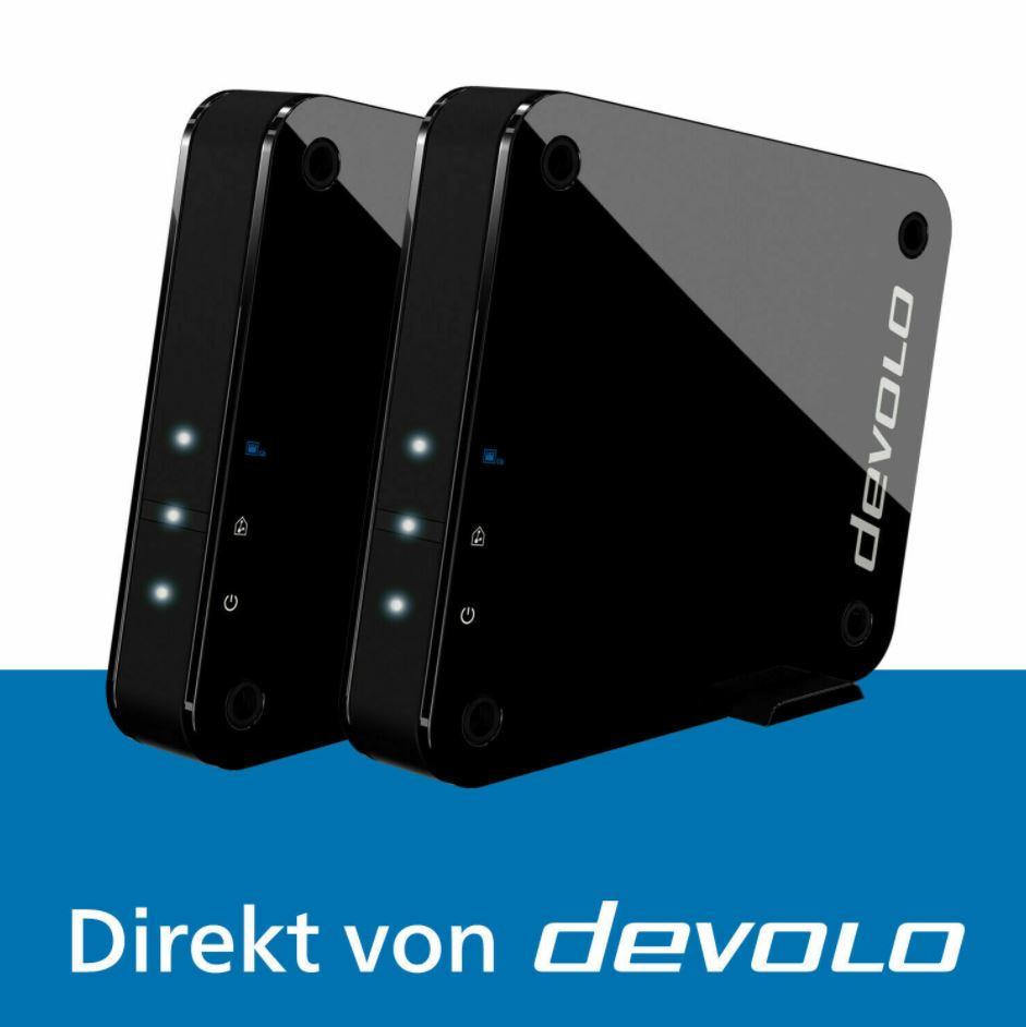 Bild zu DEVOLO 9855 GigaGate Starter Kit (WLAN Bridge 2000 MBit/s 2.4 GHz, 5 GHz) für 109,99€ (VG: 202,99€)
