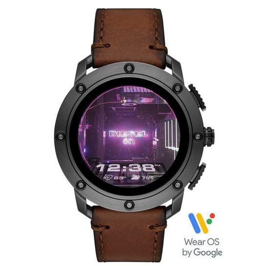 """Bild zu Diesel DZT2032 Smartwatch """"Axial"""" (Edelstahlgehäuse, Lederarmband) für 169€ (VG: 192,13€)"""