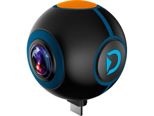 Bild zu Discovery Adventures 720 Grad Action-Cam für 40,90€ (Vergleich: 112,94€)