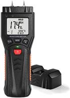 Feuchtigkeitsmessgerät Feuchtigkeitsmesser mit LCD Hintergrundbeleuchtung für Holz, Brenn[...]