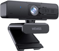 Full HD 1080P Webcam mit Mikrofon, Autofokus PC Webcam, Stereo Rauschunterdrückung, Plug [...]