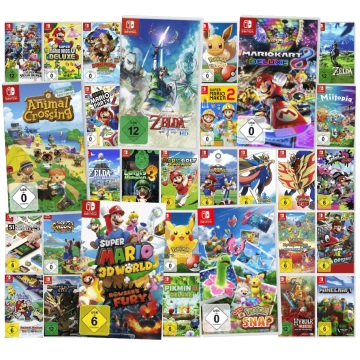 Bild zu 3 Nintendo Switch Spiele ab 101€, z. B. Super Smash Bros. Ultimate + Mario Golf: Super Rush + Zelda Skyward Sword HD