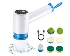 Bild zu Elektrische Reinigungsbürste 3.7V, 2.2Ah, 400RPM für 11,99€