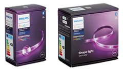 Bild zu Philips Hue LightStrip Plus Basis-Set + 1 Meter Erweiterungs-Set für 63,39€ (Vergleich: 89,24€)