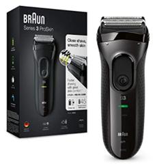 Bild zu Braun Series 3 ProSkin 3020s Elektrorasierer für 51,69€ (Vergleich: 63,90€)