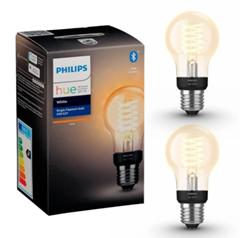 Bild zu Philips Hue A60 E27 Standard-Glühfaden (Bluetooth)–Doppelpack für 27,39€ (Vergleich: 36,77€)