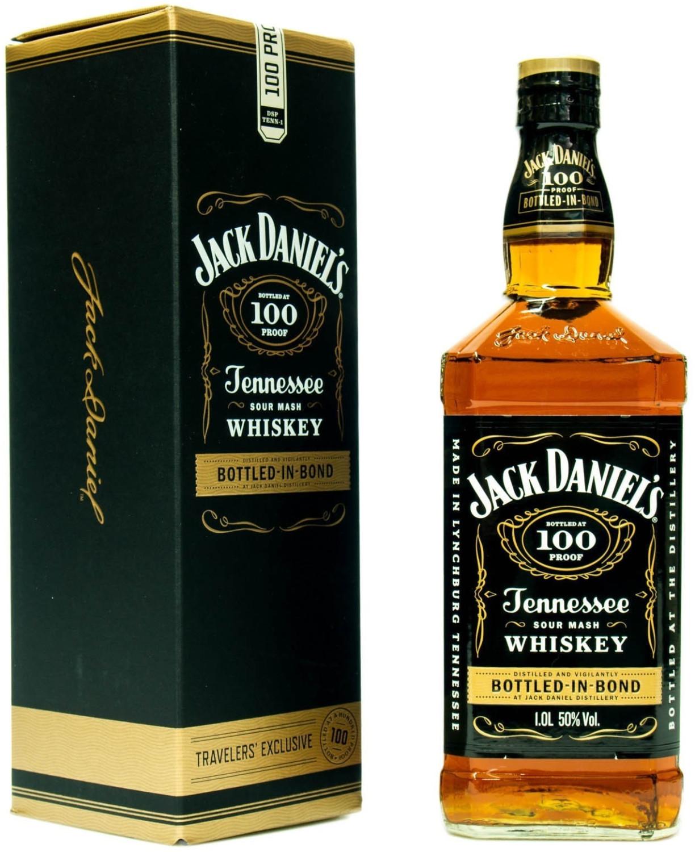 Bild zu 1 Liter Jack Daniels Bottled in Bond 50% für 32,50€ (Vergleich: 37,89€)