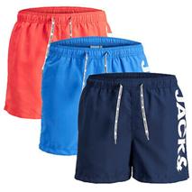Jack Jones Swim Shorts Bermuda Herren Bade kurze Hose - 21 Farben eBay