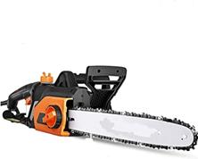 Kettensäge, Kettensäge Elektro 1800W, Schwertlänge 35 cm, Kettengeschwindigkeit 15m s, We[...]