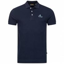 Lois Jeans Herren Polo-Shirt 4E-LPSM-Navy
