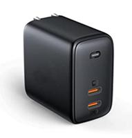 Mini Ladegerät, USB-C Ladegerät, 65W PD Ladegerät mit dynamischer Erkennung und GaN-Power[...]