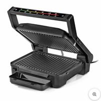 N8WERK Digital-Kontakt-Grill Midnight Edition - 2000W - Touch-Display mit 6 Grill-Program[...]