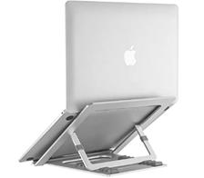 NATOL Laptop Ständer, Aluminium Höhenverstellbarer Belüfteter Laptophalter, 8-Stufig Note[...]