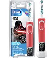 Oral-B Kids Star Wars Elektrische Zahnbürste für Kinder ab 3 Jahren, extra weiche Borsten[...]