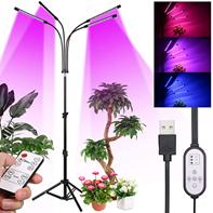 Pflanzenlampe LED mit Ständer,Tomshine 80W 80Leds Pflanzenleuchte Vollspektrum with 4 Hea[...]