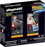 PLAYMOBIL Back to the Future 70459 Marty McFly und Dr Emmett Brown, Ab 6 Jahren Amazon de[...]