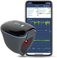Wellue Bluetooth Finger Herzfrequenz Monitor, Schlaf-Sauerstoff-Monitor, über Nacht zur V[...]