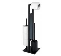 Wenko Stand-WC-Garnitur Rivalta 23708100 schwarz ? online bei POCO kaufen