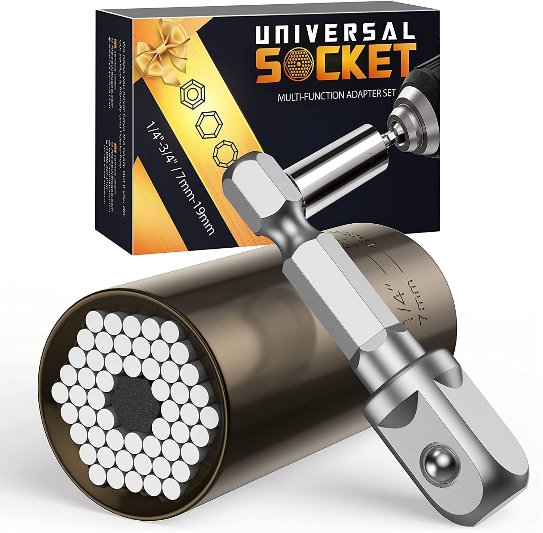 Bild zu SOOFUN Universal-Stecknuss (7-19mm) für 5,97€