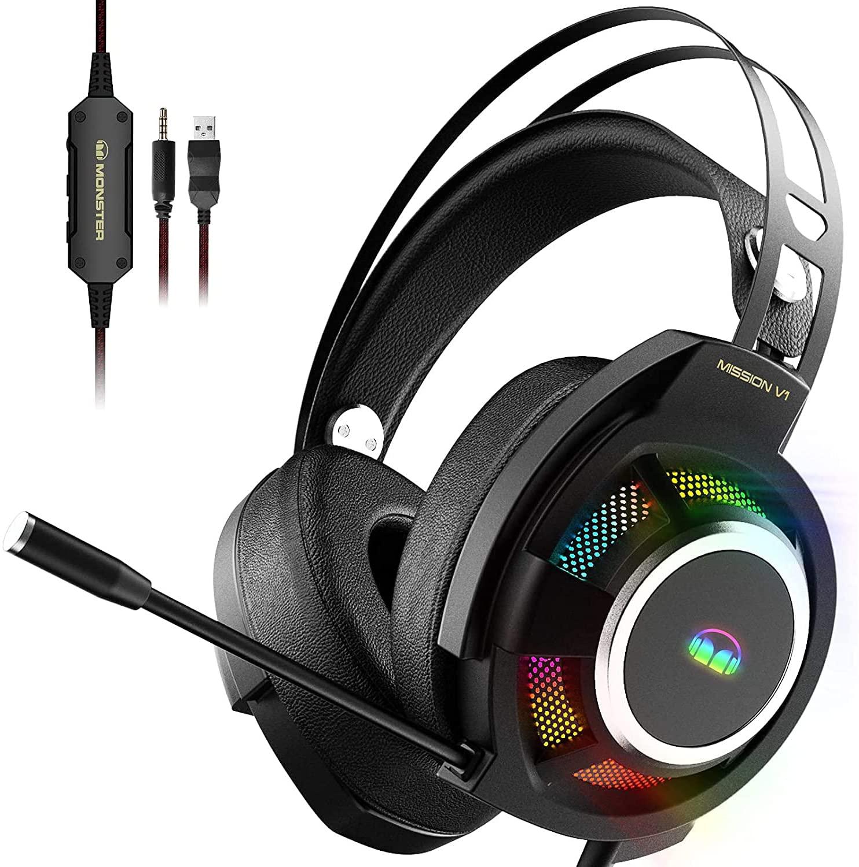 Bild zu Lightspeed Gaming-Headset Monster Mission V1 für 20,99€
