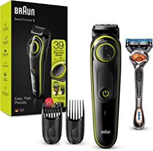 Bild zu Barttrimmer und Haarschneider Braun BT3241 mit 39 Längeneinstellungen für 28,99€ (Vergleich: 47,95€)