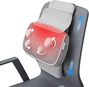 Bild zu Shiatsu Massagegerät für Nacken und mit Wärmefunktion für 19,49€