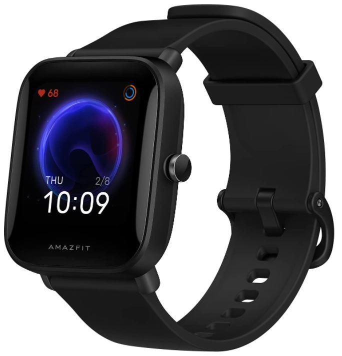 Bild zu Amazfit Bip U Smartwatch (1,43″ Fitness Tracker mit 60+ Sportmodi, Messung des Blutsauerstoffgehalts und Herzfrequenz) für 29,99€ (VG: 46,89€)