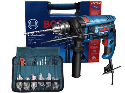 Bild zu Schlagbohrmaschine Bosch GSB 16 RE für 85,90€ (Vergleich: 100€)