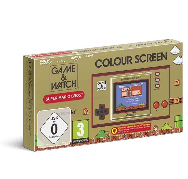 """Bild zu Nintendo Game und Watch: Super Mario Bros """"Retrokonsole"""" für 33€ (VG: 39,94€)"""