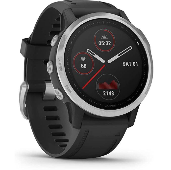 Bild zu Garmin fenix 6S GPS-Multisport-Smartwatch mit Sport-Apps 1,2″ Display, bis zu 9 bzw. 34 tage Akkulaufzeit) für 322,24€ (VG: 382,95€)