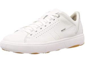 geox leder sneaker weiß