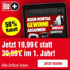 Bild zu BILDplus Jahresabo für 19,99€/Jahr (oder 1,99€ im Monat)