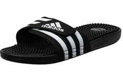 Bild zu adidas Adissage Gymnastikschuh schwarz für 12,99€ (Vergleich: 18,94€)