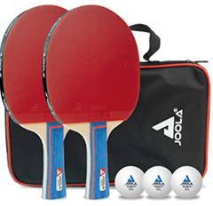 Bild zu JOOLA Tischtennis Set Duo PRO (2 Tischtennisschläger + 3 Tischtennisbälle) für 13,06€ (Vergleich: 18,02€)