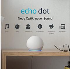 Bild zu [nur noch heute] Amazon Echo Dot (4. Gen) Smarter Lautsprecher mit Alexa für 29,99€ (Vergleich: 43,59€)
