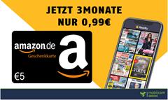 Bild zu [endet heute] 3 Monate READLY (Magazin-Flatrate) für 0,99€ statt 29,97€ + 5€ Amazon Gutschein