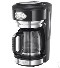 Bild zu Russell Hobbs Kaffeemaschine 21701-56 (Retro, schwarz, 1000W) für 32,94€ (Vergleich: 51,23€)