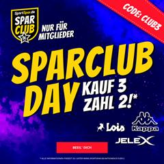 Bild zu SportSpar: 3 für 2 Aktion für SparClub Mitglieder (Mitgliedschaft bereits ab 4,95€)