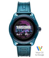Bild zu DIESEL Fadelite Gen4 Smartwatch (Silikon, 190 +/- 5 mm, blau) für 98€ (Vergleich: 128,47€)