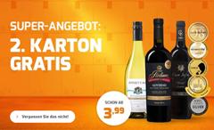 Bild zu Weinvorteil: die zweite Kiste Wein gratis