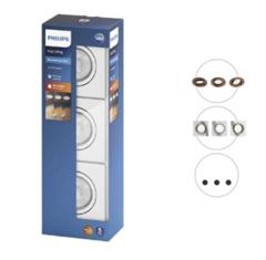 Bild zu Philips myLiving Shellbark Einbauspots 3er Set für je 25,90€ (Vergleich: 54,60€)